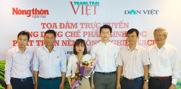 phat trien nong nghiep huu co can ung dung che pham sinh hoc hinh anh 1