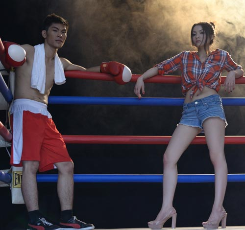 thuy top - nu boxing sexy tai xuat hinh anh 7