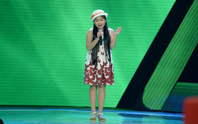 nghe giong ca moc mac cua thi sinh the voice kids khien lam truong chay nuoc mat hinh anh 1