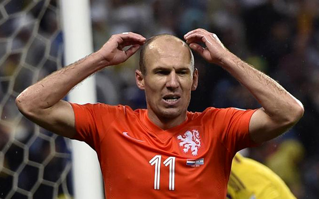 World Cup 2014: Robben buồn!