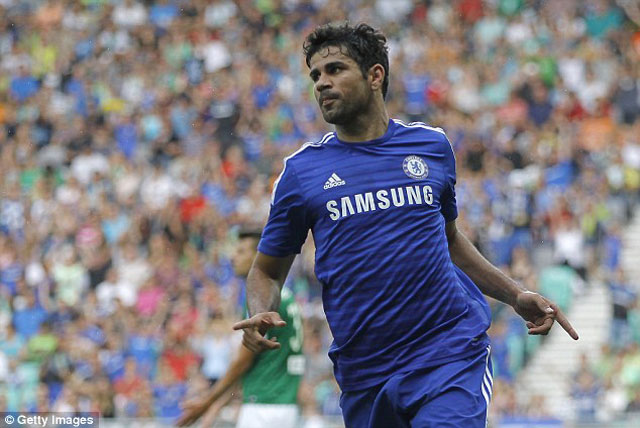 """diego costa """"no sung"""", chelsea nguoc dong thanh cong hinh anh 1"""