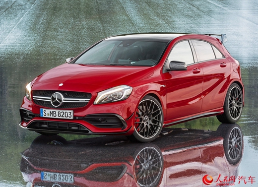 mercedes-benz a45 amg chinh thuc phat hanh hinh anh 1