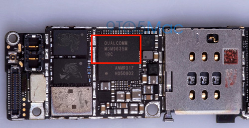 lo anh iphone 6s su dung modem qualcomm hinh anh 1