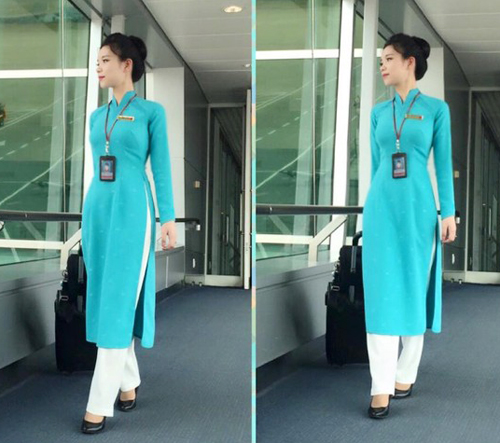 can canh 3 mau ao dai moi cua tiep vien vietnam airlines hinh anh 5