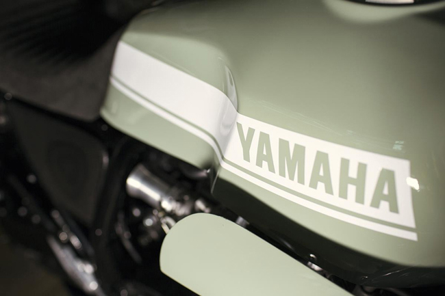 "yamaha xjr1300 do cafe racer ""hop hon"" canh may rau hinh anh 2"