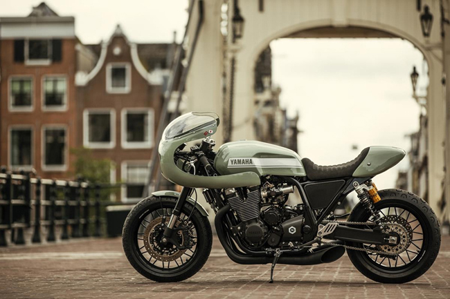 "yamaha xjr1300 do cafe racer ""hop hon"" canh may rau hinh anh 7"