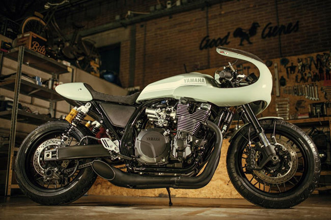 "yamaha xjr1300 do cafe racer ""hop hon"" canh may rau hinh anh 8"