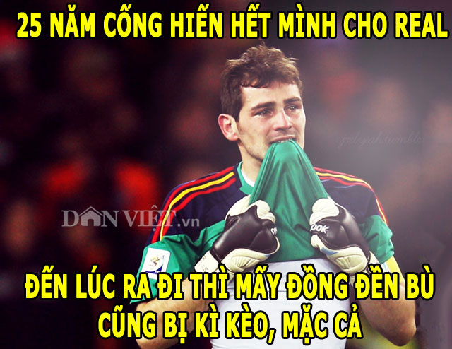"anh che: m.u bi ""hut mau"", real doi xu qua te voi casillas hinh anh 3"