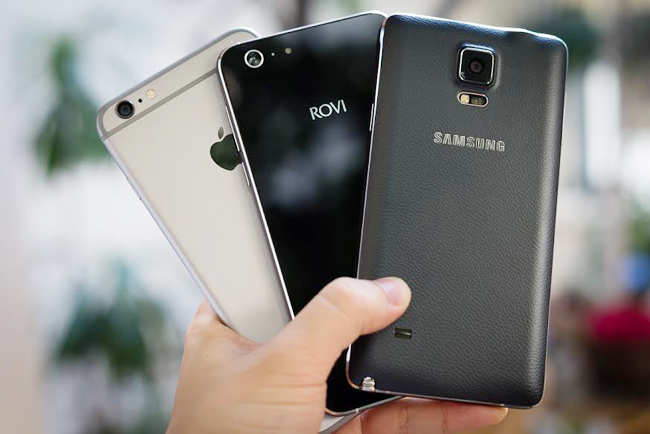 hero x so dang cung iphone 6 plus, galaxy note 4 hinh anh 1
