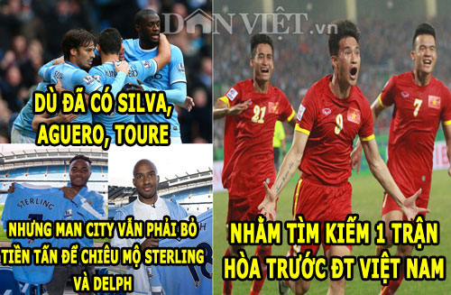 anh che: van gaal mia mai real, man city mong hoa dt viet nam hinh anh 2