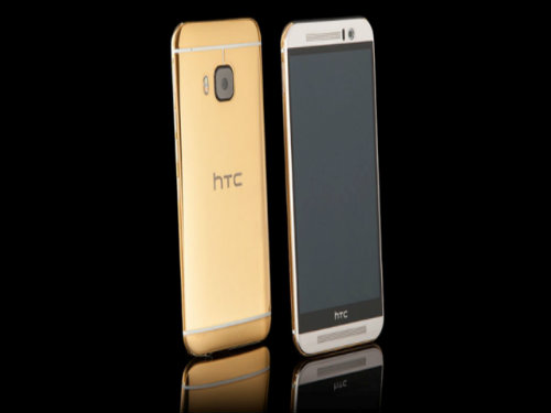 htc one m9 ma vang 24k gia 56 trieu dong hinh anh 1