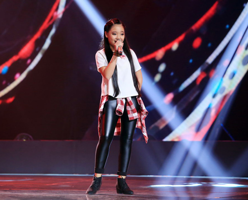 cau be 13 tuoi hat hit son tung gay sot the voice kids hinh anh 10