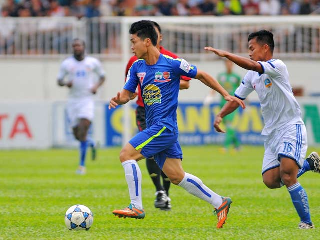 vong 21 v.league 2015: hagl tim duong song ỏ cao lãnh hinh anh 1