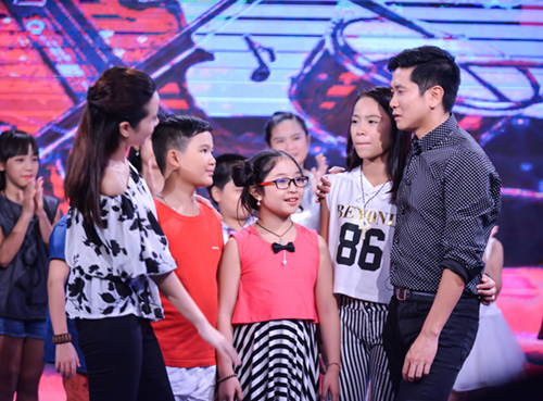 minh tuyet ve nuoc co van cho cam ly tai the voice kids hinh anh 10