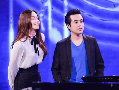minh tuyet ve nuoc co van cho cam ly tai the voice kids hinh anh 4