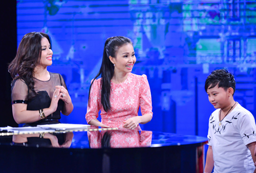 minh tuyet ve nuoc co van cho cam ly tai the voice kids hinh anh 2