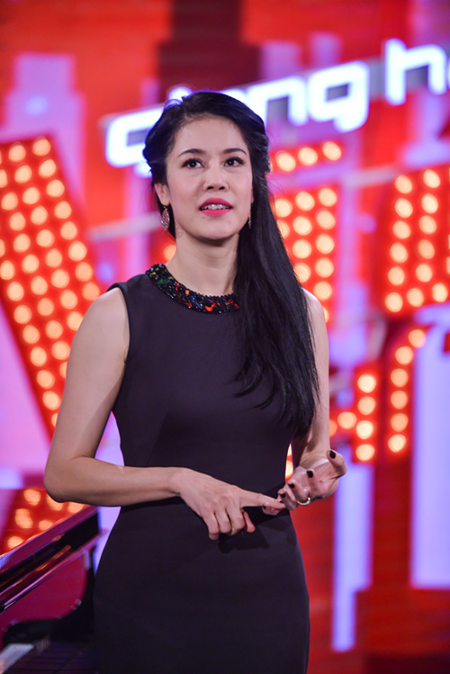 minh tuyet ve nuoc co van cho cam ly tai the voice kids hinh anh 8