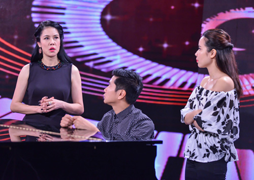 minh tuyet ve nuoc co van cho cam ly tai the voice kids hinh anh 9