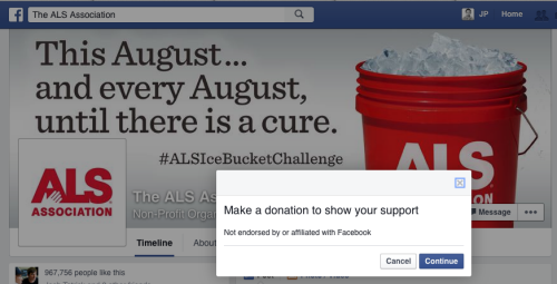 "facebook co them nut ""donate"" de nguoi dung quyen gop tien hinh anh 1"
