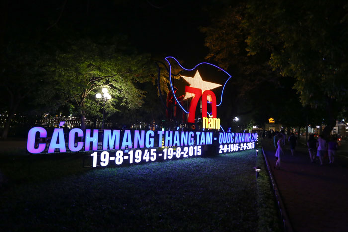 duong pho ha noi lung linh chao don quoc khanh 2/9 hinh anh 1