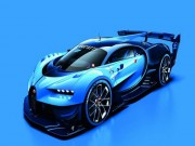 o to - Xe may - Bugatti tung anh chinh thuc mau xe concept Vision Gran Turismo