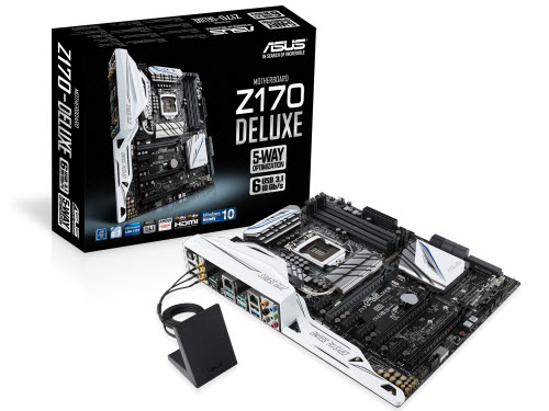 asus gioi thieu mainboard z170: ho tro chipset intel the he thu 6 hinh anh 1