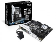 Cong nghe - ASUS gioi thieu mainboard Z170: Ho tro chipset Intel the he thu 6