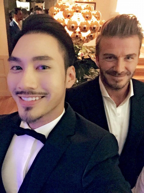 toc tien mac long lay di gap david beckham hinh anh 7