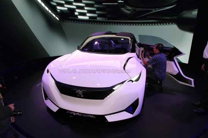 peugeot fractal concept - mau xe do thi trong tuong lai hinh anh 1