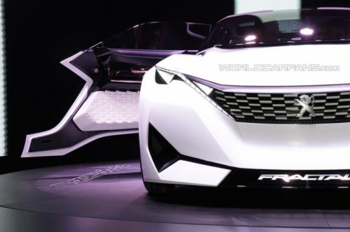 peugeot fractal concept - mau xe do thi trong tuong lai hinh anh 2