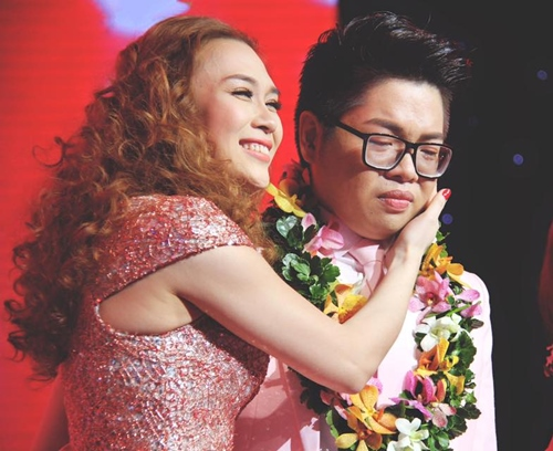 khoanh khac dep trong dem cuoi the voice hinh anh 4