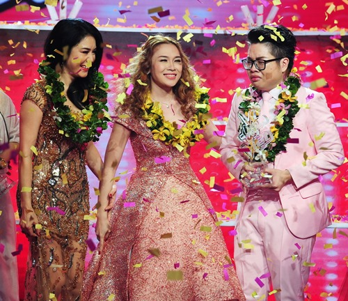 khoanh khac dep trong dem cuoi the voice hinh anh 2
