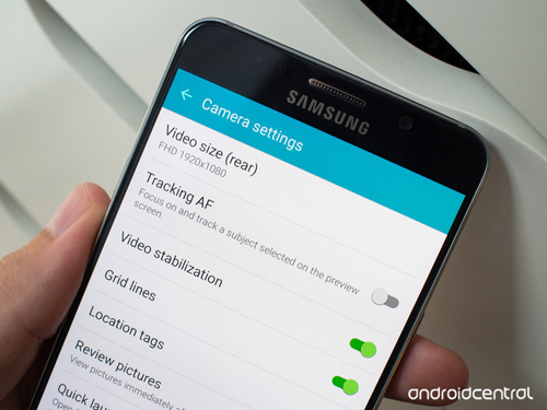 meo dung camera samsung galaxy note 5 can biet hinh anh 2
