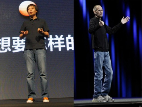"""""""trum"""" smartphone gia re xiaomi voi phong cach steve jobs hinh anh 2"""