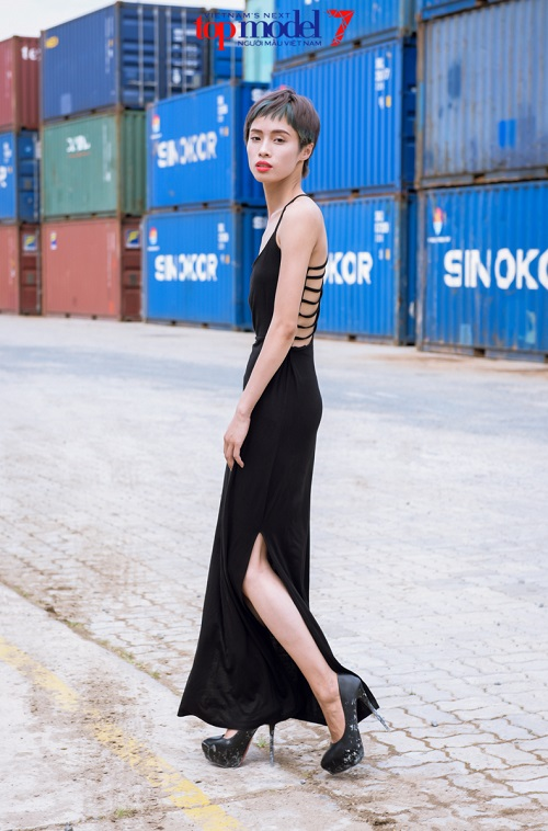 thi sinh vietnam's next top model khoe street style cuc ngau hinh anh 6