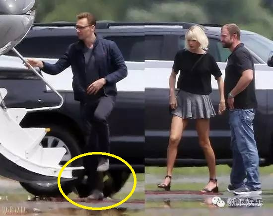 "tom hiddleston bi ""soi"" di mot doi giay hen ho taylor swift hinh anh 2"