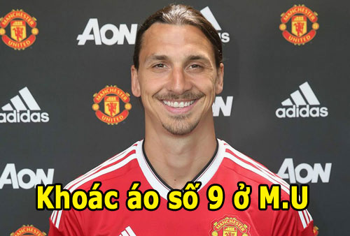 ibrahimovic khoac ao so 9 o m.u, martial lay so 11 hinh anh 1