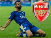 The thao - Nhan 50 trieu euro, Leicester City ban Mahrez cho Arsenal
