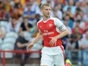 The thao - Arsenal don hung tin, Mertesacker nghi thi dau 5 thang
