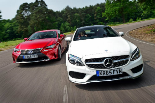 nen chon mua mercedes c-class coupe hay lexus rc? hinh anh 1