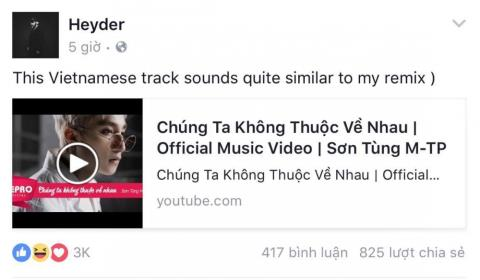 "thuc hu vu cha de ""we don't talk anymore remix"" to son tung dao nhac hinh anh 1"