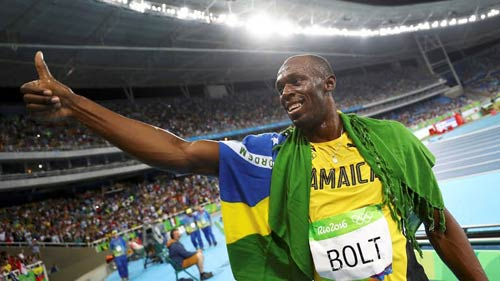 "usain bolt gianh hcv 200m olympic, het to ""toi la so 1"" hinh anh 1"