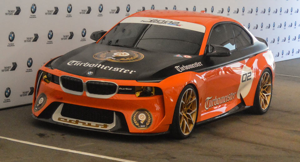 "ngam bmw 2002 hommage turbomeister concept ""canh cam"" tai pebble beach hinh anh 1"