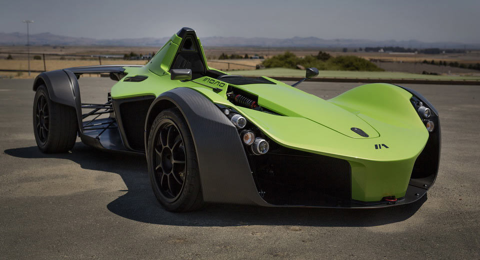 bac mang mau sieu xe mono single-seater supercar toi pebble beach hinh anh 1