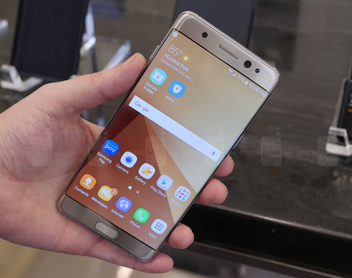 so lo dat hang galaxy note 7 gap doi galaxy note 5 hinh anh 1
