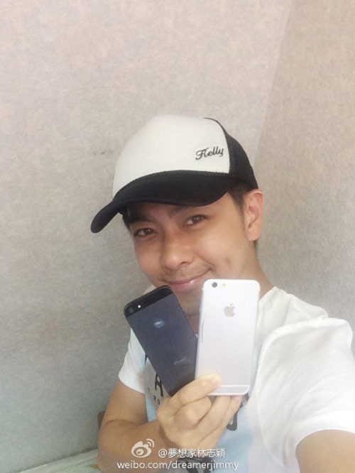 hot: lam chi dinh khoe anh tren tay iphone 7 plus hinh anh 2