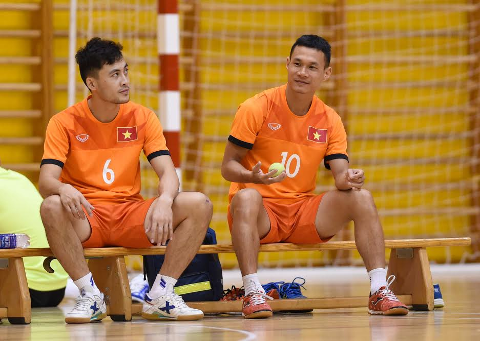 dt futsal viet nam dinh ngay chot danh sach du world cup hinh anh 1
