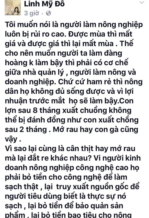 "ca si my linh noi ro ve phat ngon ""re dung doi do sach"" hinh anh 2"