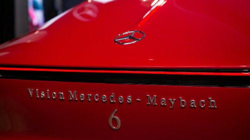 ngam du thuyen mat dat vision mercedes-maybach 6 coupe hinh anh 6