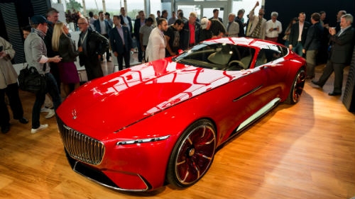 ngam du thuyen mat dat vision mercedes-maybach 6 coupe hinh anh 3
